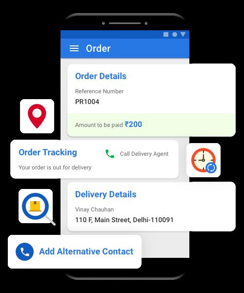 Transport management system for customer feedback