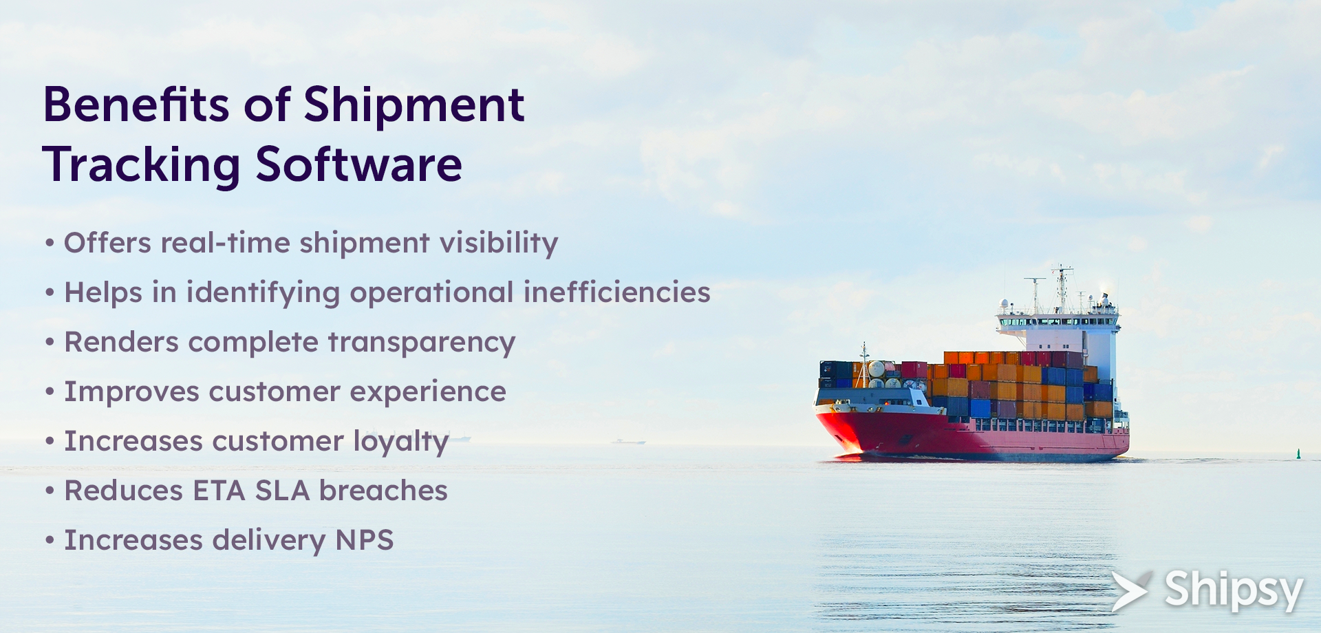 Shipment Tracking Software Benefits